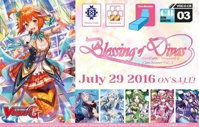 Boîte de 12 Clan Boosters CB03 Blessing of Divas 894